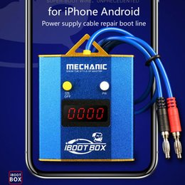 $enCountryForm.capitalKeyWord Australia - MECHANIC iBoot Box Power supply Test Cable Motherboard for iPhone Android Mobile phone Battery Repair Boot Line