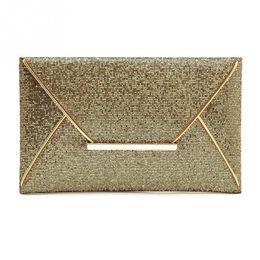 23eac4df1a Super Fashion Women Glitter Sequin Evening Party Bag Ladies Tote Messenger  Bag Envelope Handbag 3 Colors for Choice #20 #505835