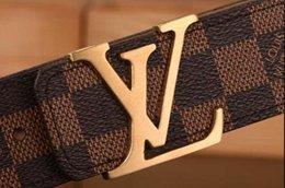 2017 Высокое качество дизайнер бизнес-пояса импорт действительно кожа мода большие копыта мужская ремень ремни с коробкой на Распродаже