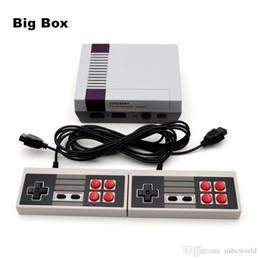 Jogos video Handheld do console 620 do jogo da tevê de Coolbaby mini sistema do entretenimento de 8 bocados para o berço grande da caixa do anfitrião nostálgico dos jogos clássicos de Nes