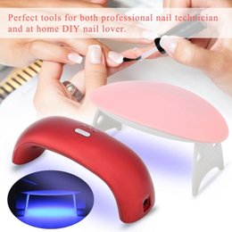 $enCountryForm.capitalKeyWord Australia - TMISHION 9Pcs Lot Beginner Nail Art Tools 9W Nature Nail Dryer Led Lamp Set Any 3 Colors Gel Polish Manicure Kits a
