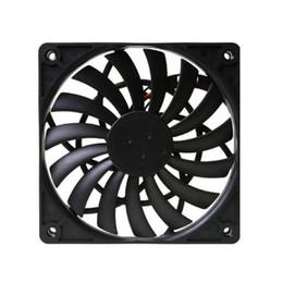 Guadaña SY1212SL12H-P PWM ventilador enfriador Ultra Thin Temperatura Controlada refrigerado por agua aficionados 12cm PWM controlada Fan en venta