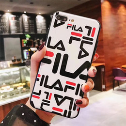 $enCountryForm.capitalKeyWord Australia - One Piece Luxury TPU phone case fashion For iPhone 6S 7 8 P X XS Graffiti letters Designer phone back cover For gifts