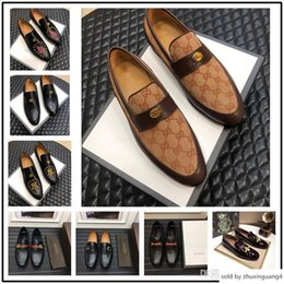 $enCountryForm.capitalKeyWord Australia - Hot Sale Oxford For Casual Form Men Dress Autumn Breathable Oxfords Shoes Slip On Black Brown Size 38-45
