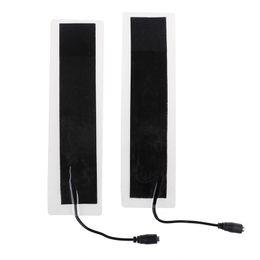 $enCountryForm.capitalKeyWord Australia - 2pcs lot USB 12V 20*4cm Plastic Warm Heating Heater Winter Warm Plate Waist Shoes Pad Heat Mat New