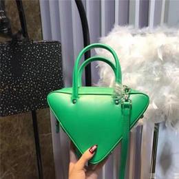 b1691e0db45 Ladies big bLack shouLder bags online shopping - Women Big Triangle Handbag  Genuine Leather Shoulder Bags