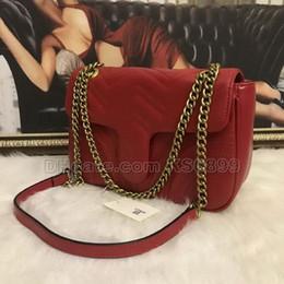 $enCountryForm.capitalKeyWord NZ - New Arrival 5Colors Designer Women Shoulder Bags PU Leather Fashion Gold Chain Bag Heart Style Handbags Cross body Pure Color Bag #1732695