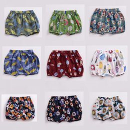 Girls Graffiti Shorts NZ - Shorts 2019 New Baby Children Girls Boys Hot Pants Fashion Summer Shorts Pants Boys Graffiti Pattern Shorts 0-3 Years