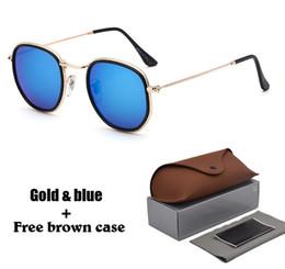 black square eyeglasses 2019 - Brand designer Geometry Sunglasses Women men uv400 Lens Round Sun Glasses Men Alloys Frame Eyeglasses Oculos De Sol with