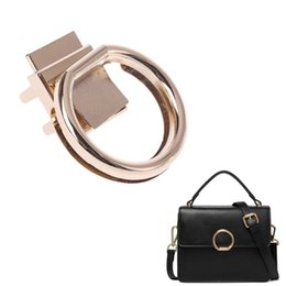 1 Pc Fashion Hardware Purse Twist Lock Metal For Bag Handbag Turn Locks Diy Handmade Bag Clasp High Quality Bag Lock And To Have A Long Life. Bag Parts & Accessories