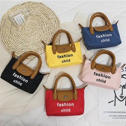Chinese  Children's Handbag Fashion child letter Messenger Bags PU Shoulder Bag For Baby Girls Kids Coin Tote Bag Purse Small Mini Square Bags LE321 manufacturers