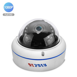 Cmos Vandal Proof Camera Australia - BESDER 2.8mm wide angle IP Camera 1080P 720P Vandal Proof Metal Case CCTV Home Security Camera Onvif P2P Motion Alarm RTSP XMEye