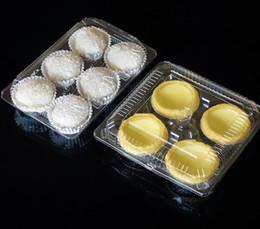 $enCountryForm.capitalKeyWord Australia - Blister Transparent Cake Mooncake Boxes Cupcake Cookie Egg Tart Packaging Boxes Hold 4 6 Cakes SN2642