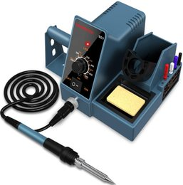 Wholesale weld table resale online - 392 f f temperature adjustable hanmatek welding table second rapid heating welding kit with welding support sd1