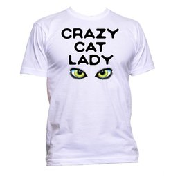 762c1bfe2378 Crazy Cat Lady T-Shirt Mens Womens Unisex Fashion Slogan Comedy Cool Funny  Gift RETRO VINTAGE Classic t-shirt