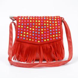 4a819881f19 Children tassel handbags girls small shoulder bag kids messenger bags mini  bag Coin Purses Toddler Wallet
