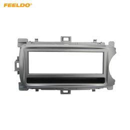 $enCountryForm.capitalKeyWord Australia - FEELDO Car Stereo 1Din Dash Panel Fascia Frame Adapter For Toyota Yaris (XP130) Face Plate Frame Refitting Trim Kit #4909