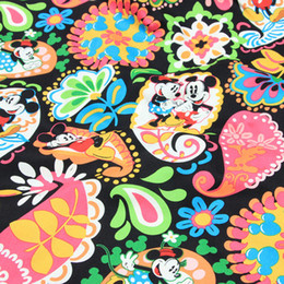 $enCountryForm.capitalKeyWord Australia - New Arrival 150cm width Cartoon pink flower Cotton fabric for diy cloth,clothing pillow handbag bed special purpose fabrics