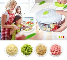 kitchen shredder chopper UK - A Eco-Friendly Kitchen Tools Multifunction Chopper Design Chopper Garlic Cutter Vegetable Slicer Fruit Tools Manual Meat Grinder
