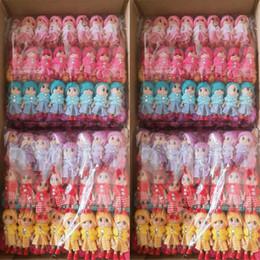 $enCountryForm.capitalKeyWord Australia - 300pcs lot 8cm NEW Kids Toys Soft Interactive Baby Dolls Toy Mini Doll For girls and boys Keychain Free Shipping