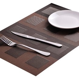 $enCountryForm.capitalKeyWord UK - Dinner Table Mats Hotel Restaurant Accessories Kitchen Placemats Washable Table Place mats Decoration Fashion Style Table Placemats
