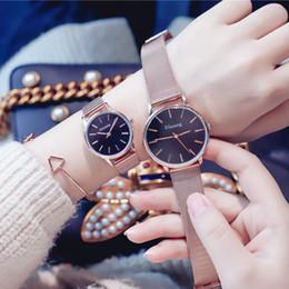$enCountryForm.capitalKeyWord Australia - [with Bracelet]Couple Watches Magnetic Watch Ladies Waterproof Fashion Men's Watch Korean Trend Simple Lazy ulzzang Watch