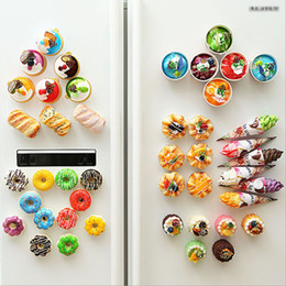 $enCountryForm.capitalKeyWord NZ - Simulation Cheese bread artificial ice cream cake refrigerator stickers home bread baking shop window display refrigerator decoration