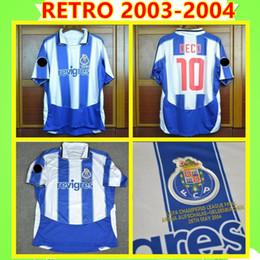 Uniform cUp online shopping - Porto Soccer Jersey Retro Cup Final home Men DECO finals Vintage Football Shirt Kits classic Uniform McCARTHY DERLEI