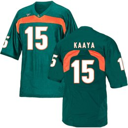 ed reed jersey 2020 - Andre Johnson Stitched Men's Miami Hurricanes Brad Kaaya Ed Reed Custom White Orange Green Game College Jersey chea