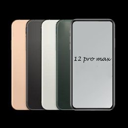 pro sim card UK - Andriod Phone 2020 12 Pro Max 6.7inch 16GB ROM FaceID 3G WCDMA QuadCore 13MP Camera Show Fake 5G phone Sealed Box DHL