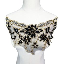 Black Lace Flower Trim Online Shopping | Black Lace Flower