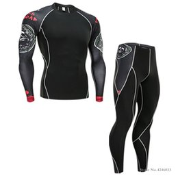 $enCountryForm.capitalKeyWord Australia - Fitness clothes men sports tights running training compression clothes moisture perspiration stretch thermal underwear