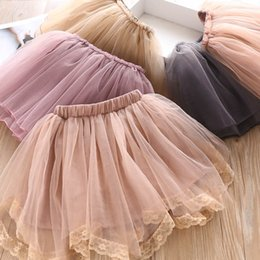 little girl skirt fashion Australia - Girls Skirts Tutu Skirts kids clothes girls Ballet Tutu skirts princess dress little girls clothing A7832