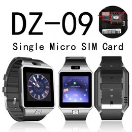 smartwatch hd Australia - Smart Watch Bluetooth DZ09 Smartwatch Anti-Lost Support GSM SIM TF Card Phone Call Smart Watch With HD Camera LCD Color Screen