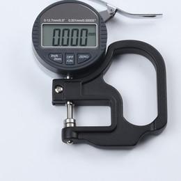 Medidor de espesor digital Precise 0.001mm 0-10mm Micrómetro electrónico Medidor de espesor Medidor de ancho Herramientas de medición con datos Envío gratuito en venta