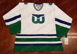 Cheap custom Hartford Whalers Vintage CCM Jersey New Stitched Retro Hockey  Jersey Customize any name number XS-5XL a2f26b501