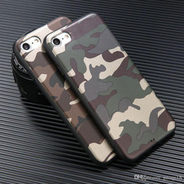 $enCountryForm.capitalKeyWord Australia - Army Camouflage Camo Case for IPhone X XS MAX XR 8 7 7Plus 6 6s Plus Cell Phone Military Rubber Silicon Tpu Soft Grade Cover 200pcs