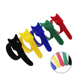 $enCountryForm.capitalKeyWord Australia - 5 Colors can choose Magic tape wiring harness tapes Cable ties Tie cord Computer cable Earphone Winder Cable ties DIY