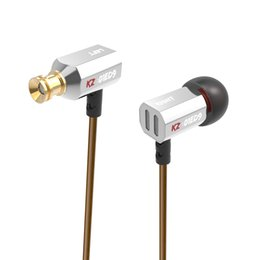 high end bluetooth headset 2019 - KZ ED9 3.5mm in ear Earphones Heavy Bass HIFI DJ Stereo Earplug noise isolating KZ Headset High End Earphone KZ ED9 AS10
