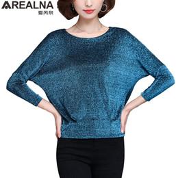 $enCountryForm.capitalKeyWord Australia - Shiny Sequin Blouse Women Tunic Fashion Woman Blouses 2019 Spring Summer Ol Womens Tops And Blouses Plus Size Bat Sleeve Shirts MX190712