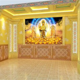 $enCountryForm.capitalKeyWord NZ - custom size 3d photo wallpaper living room mural Children-Sending Guanyin 3d painting picture sofa TV background wallpaper non-woven sticker