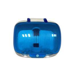 Brosse à dents Stérilisateur Lampe UV Stérilisation Boîte de désinfection Fixé au mur Anti-bactéries Brosse à dents Désinfectant Nettoyant Étui Hygiène buccale propre