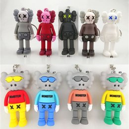 $enCountryForm.capitalKeyWord Australia - 7CM KAWS BFF Keychain Trend doll Brian Street Art PVC Action Figure Limited Version Collection Model Toy Gift Straps Charms 9 styles