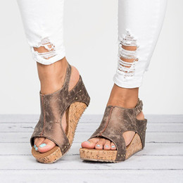 $enCountryForm.capitalKeyWord Australia - Abramenko Gladiator Sandals Platform Women Wedges Shoes Female Summer Trifle Open Toe High Black Flip Flops Slipper Size 43 Y190706