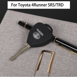 $enCountryForm.capitalKeyWord NZ - Car Key Rubber Sleeve Car Key Protection For Toyota 4Runner SR5 TRD Configuration 2010+ Car Interior Accessories