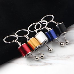 $enCountryForm.capitalKeyWord Australia - Fashion Key Chain Creative Personality Car Modification Gear Shifter Keychain Women Men Keyrings Keyfob Support FBA Drop Shipping M170F