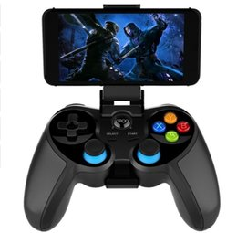 Joystick Game Controller Android Australia - Ipega PG-9157 Bluetooth Gamepad Wireless Game Controller Mobile Phone Game Joystick PUGB Auxiliary Helper For Android IOS Smart Phone