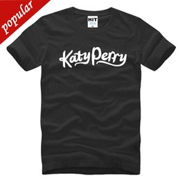 $enCountryForm.capitalKeyWord Australia - 2018 Latest Fashion Katy Perry Music Letter Printed Men's T-Shirt T Shirt Men 2018 New Short Sleeve O Neck Cotton Casual Top Tee