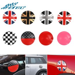 gas fuel cap cover Australia - For MINI R55 Clubman Car Styling Decoration Oil Gas Cap Fuel Tank Cover Housing Stickers Decals Accessories for MINI R56 R 56