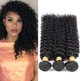 $enCountryForm.capitalKeyWord NZ - 8a 100% Unprocessed Virgin Human Brazilian Hair Kinky Curly Natural Color Top Quality Brazilian Kinky Curly Weave Hair Extension Grade 8A